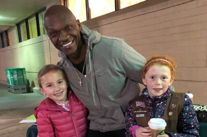 A man bought $540 in cookies so these Girl Scouts could escape the cold
