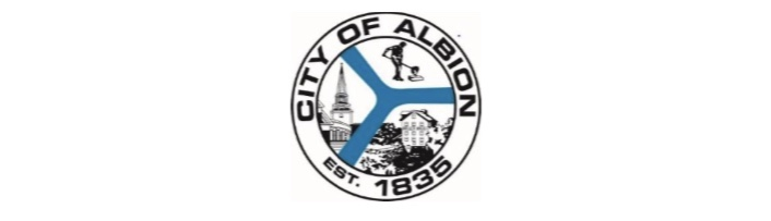 COVID-19 PANDEMIC IMPACTS CITY SERVICES.  City of Albion to Close All Nonessential Operations