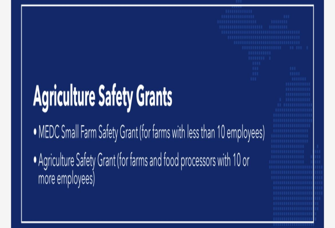 336 Farms and Food Processors Awarded $15 Million in Michigan Agricultural Safety Grants to Protect Employees, Food Industry