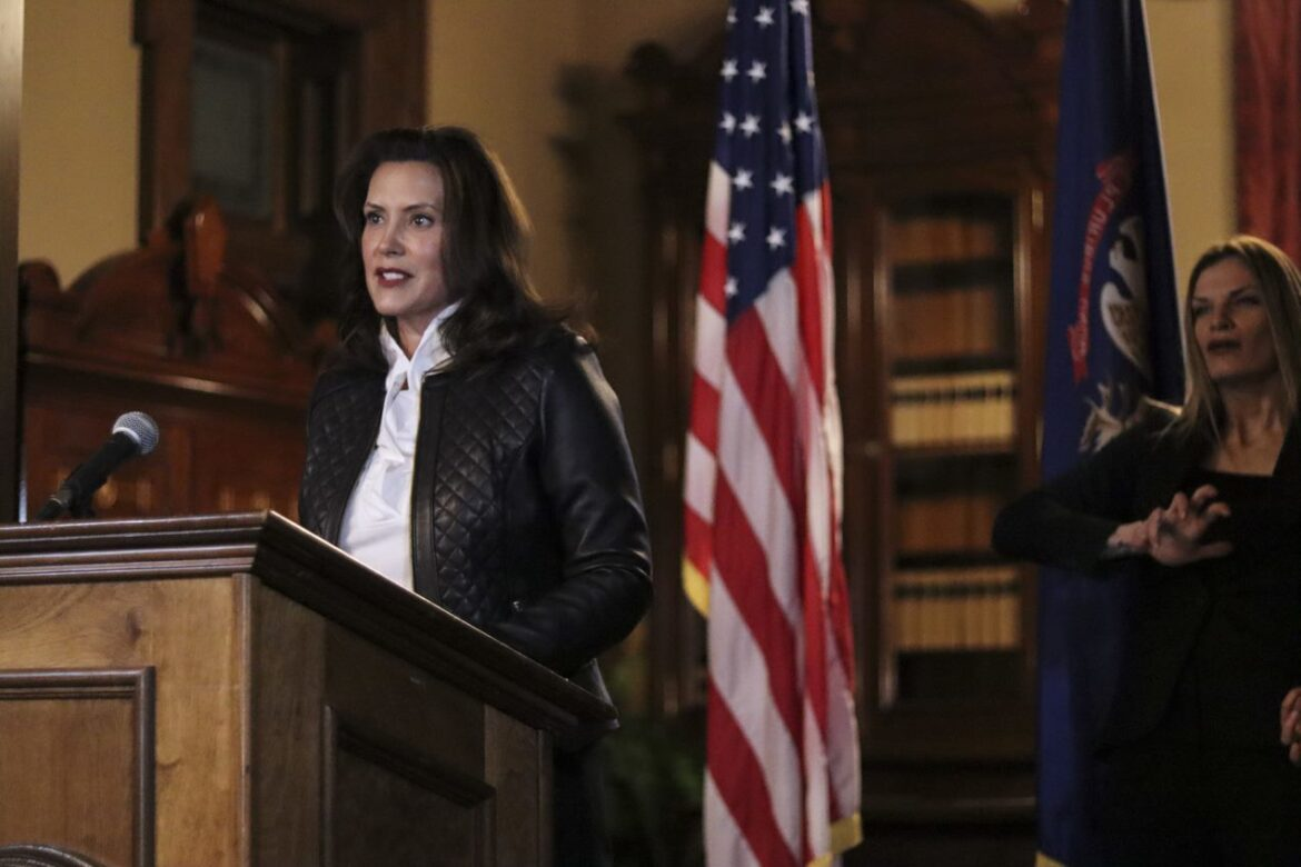 Governor Whitmer Delivers Prepared Remarks Prepared Remarks on Law Enforcement Operation
