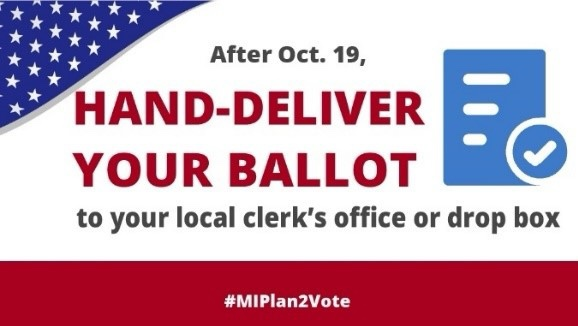 Wednesday , October 21, 2020 Your Absentee Ballot is Secure!