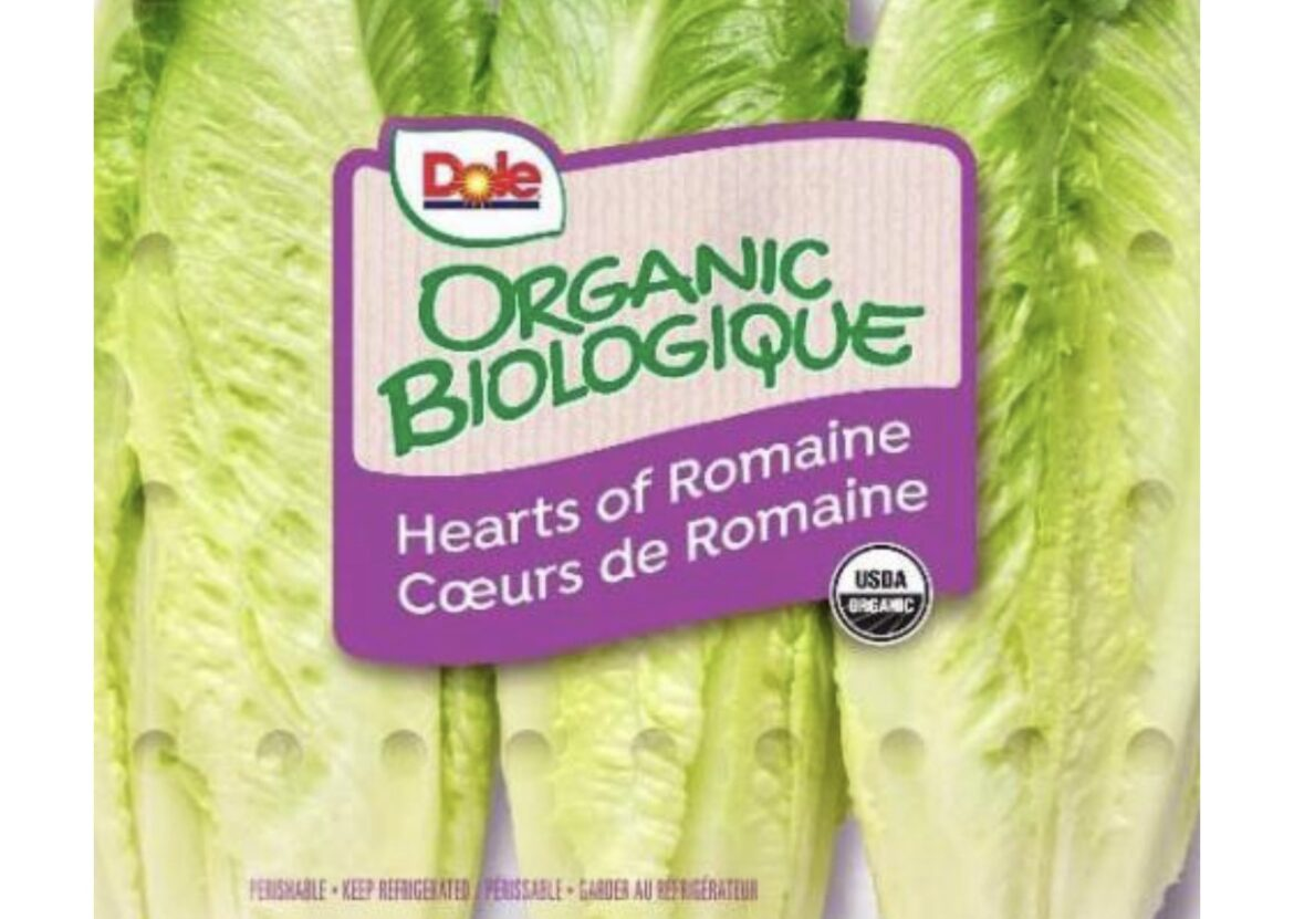 Dole Fresh Vegetables Announces Limited Recall of Organic Romaine Hearts