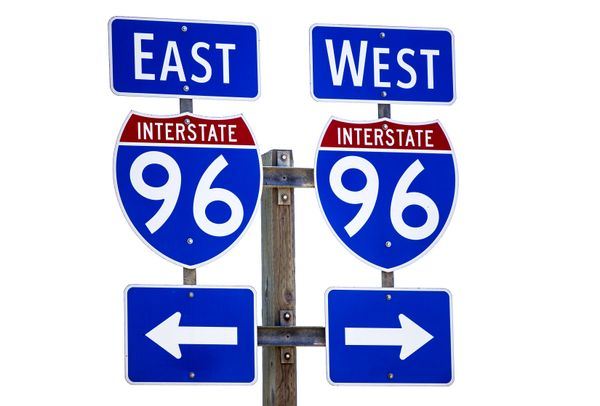 Westbound I-96 closed near Grand Rapids due to multiple crashes
