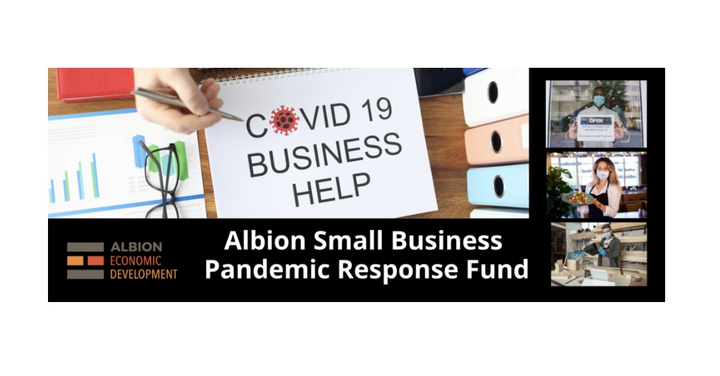 ALBION SMALL BUSINESS PANDEMIC RESPONSE FUND
