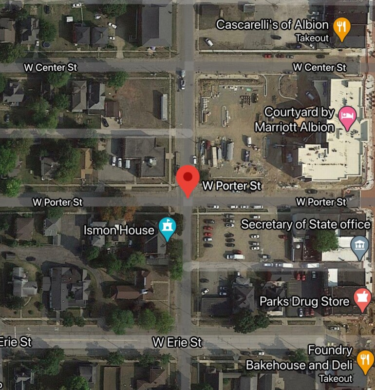 One man dead in domestic confrontation at Albion apartment