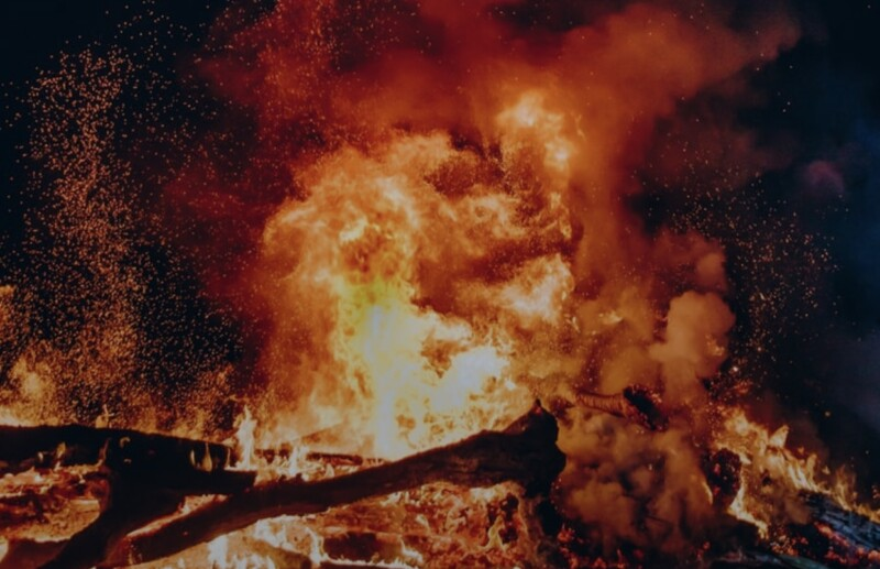Multiple departments respond to fire in Mason