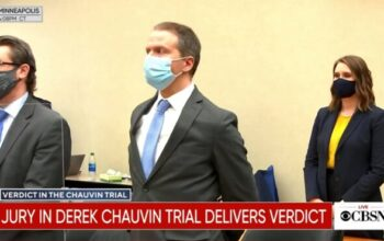 Derek Chauvin Found Guilty on all 3 Counts of Murder
