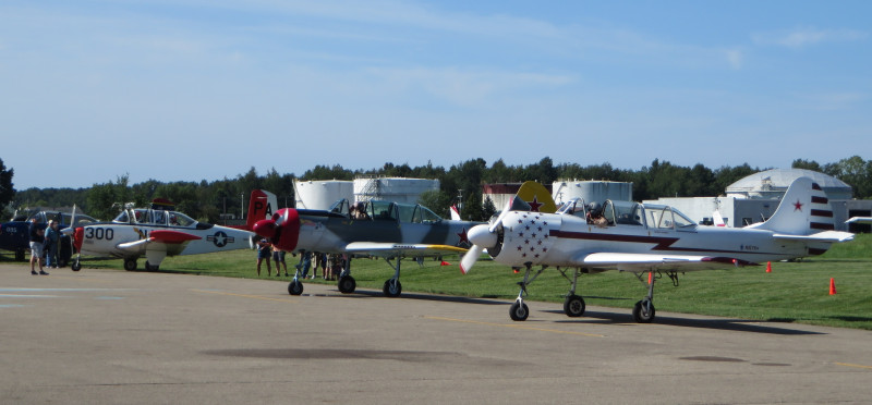 90th Anniversary Historic Fly-in Breakfast a success at Marshall's Brooks Field